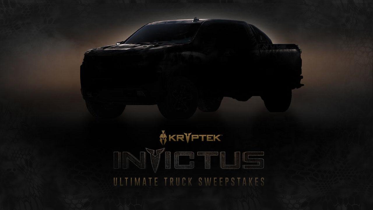 Kryptek INVICTUS Ultimate Truck Sweepstakes